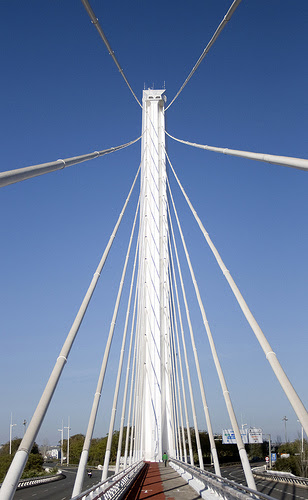 Puente del Alamillo, Sevilla, Spain