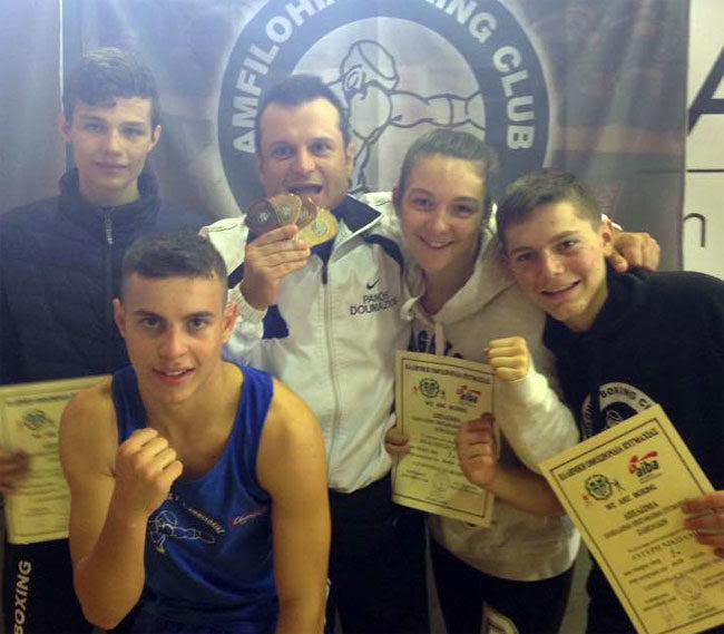 Στην κορυφή της πυγμαχίας η Αμφιλοχία – 3 πρωταθλητές Ελλάδας ο ΠΓΣ