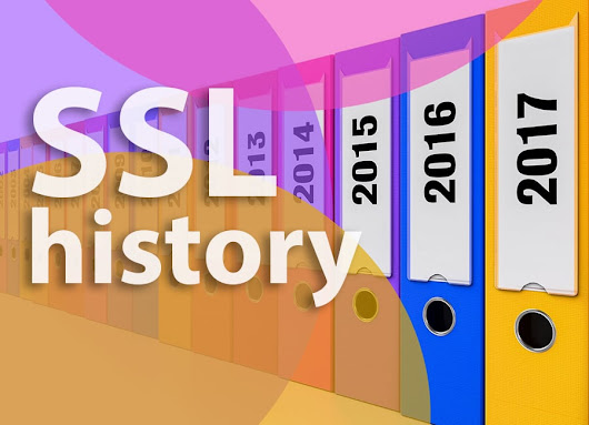 SSL History Changes and Their Influence on the Industry