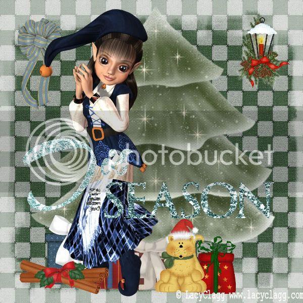 Elves,Christmas,Kitty Cats,Happy Holidays,Holiday Glitter