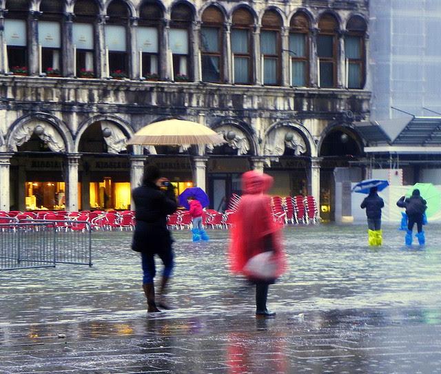 Acqua Alta On St. Mark's Square (Venice)