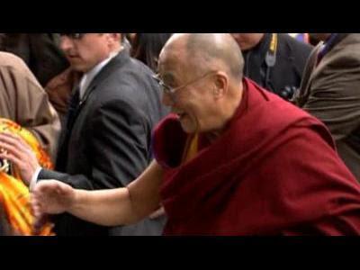 Dalai Lama arrives in Washington