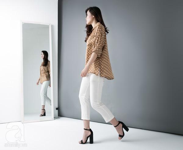9 chiếc quần vải dưới 700 ngàn VNĐ cho nàng hông to & chân cong 9