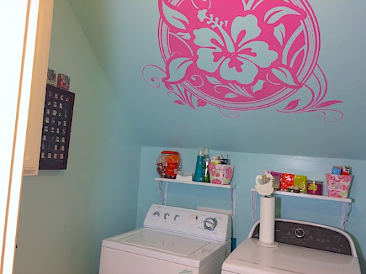 Small laundry room makeover ideas and tips - Casa Bouquet