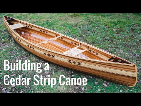 Best of the Woodworking web - How to build a strip canoe