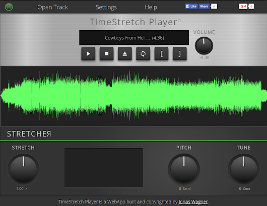 Time Stretching Audio in Javascript