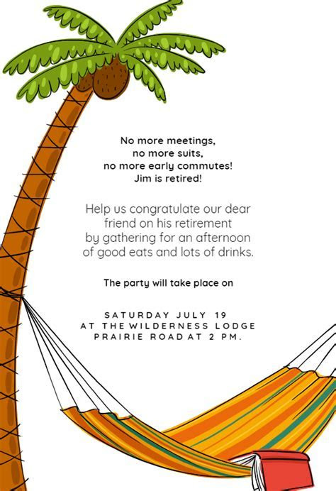 No More Meetings   Free Retirement & Farewell Party