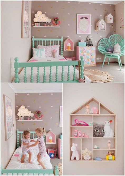 cute ideas  decorate  toddler girls room