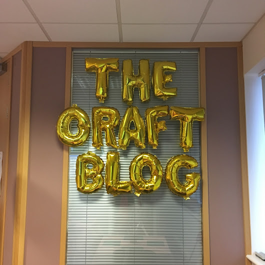 Making crafty friends – Trimcraft Bloggers' Day