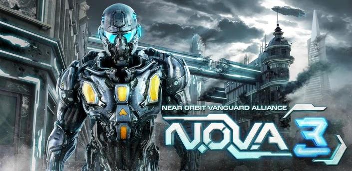 N.O.V.A. 3 – Near Orbit Vanguard Alliance v1.0.5 APK +DATA
