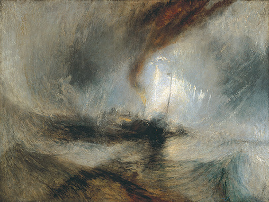 With Turner In The Storm