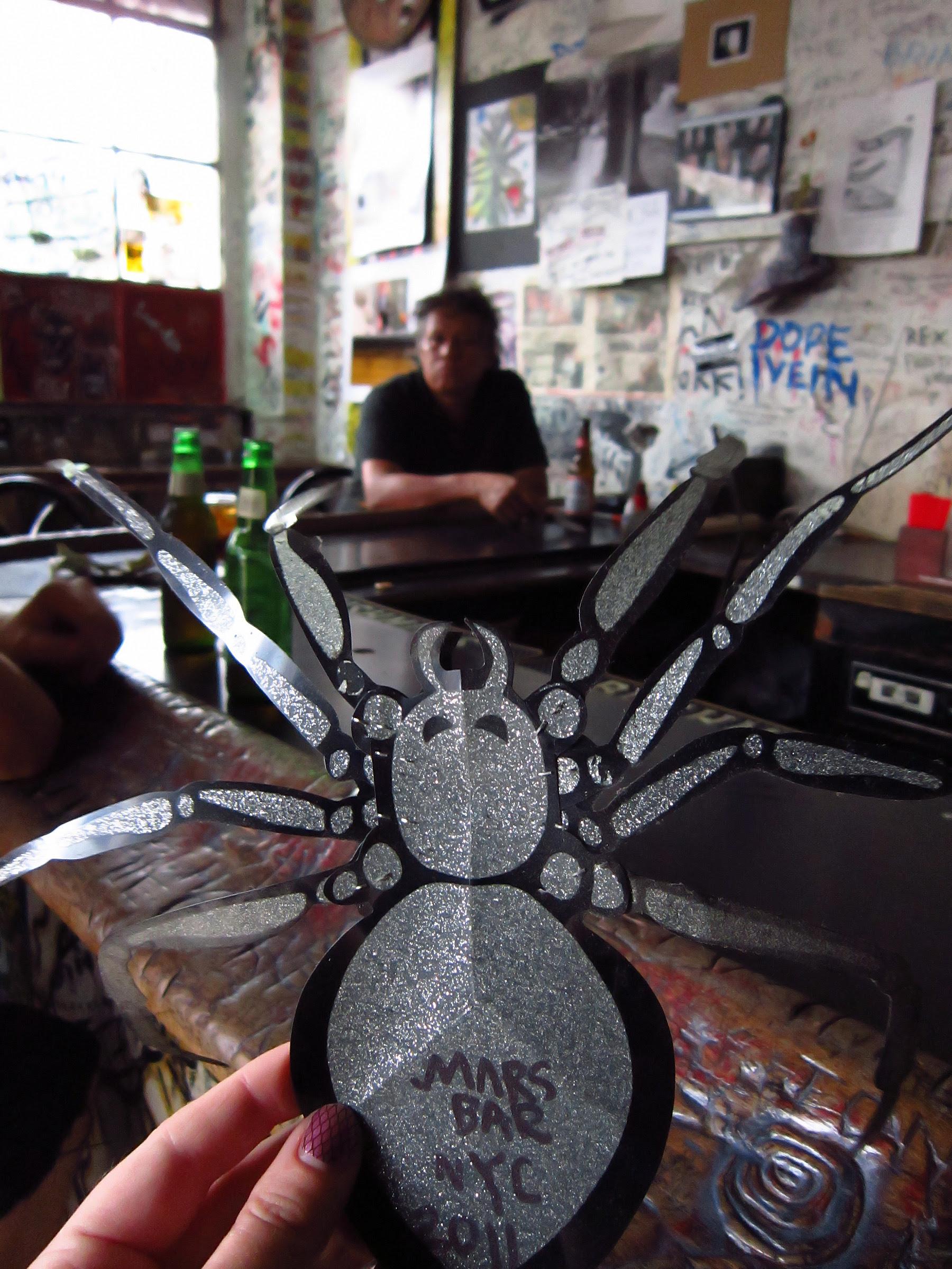 Hamlet's spider