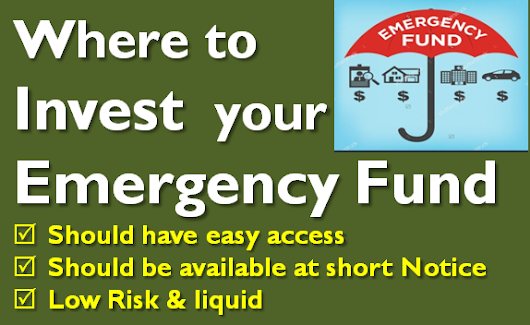 How to Invest your Emergency Fund?