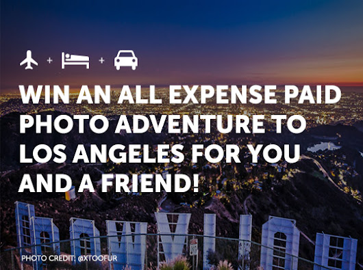 Win an All Expense Paid Photo Adventure to Los Angeles