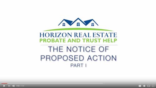 Notice of Proposed Action Part 1