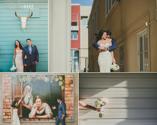 Little Italy San Diego Wedding Photos | Temecula Wedding Photographer