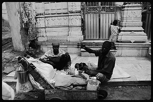 Beggars Are More Comfortable Begging Outside Gods House Than Mans House by firoze shakir photographerno1