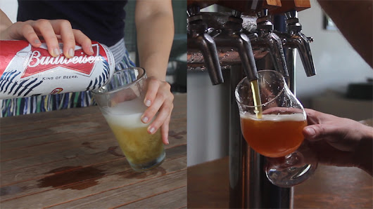 Bud vs. Microbrew: How Beer is Made (In GIFs!)