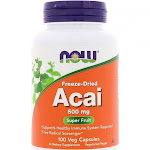 Now Foods, Acai 500mg, 100 Vegetable Capsules