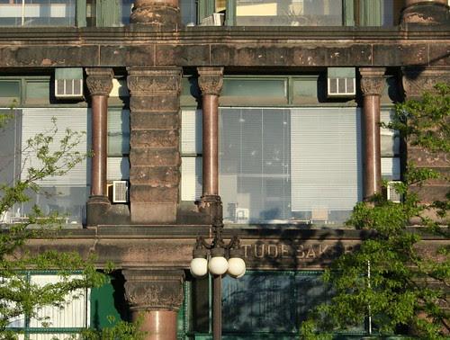 Fine Arts Building facade detail