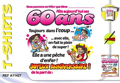 Carte D Anniversaire 60 Ans Gratuite Nanaryuliaortega Blog