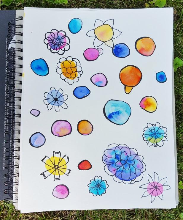 Watercolor Flowers Step 2 (617x740)