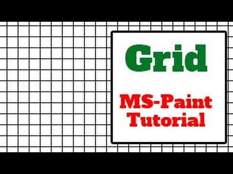 MS Paint Tutorial, Lessons, Drawing, Art, Exercises for Students and Kids