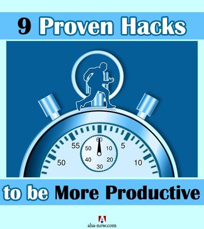 How to be more productive in half the time - 9 Hacks you should know | Aha!NOW