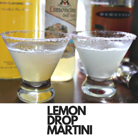 How To Make The Perfect Lemon Drop Martini