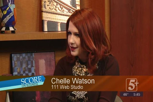 Score on Business: Chelle Watson, 111 Web Studio