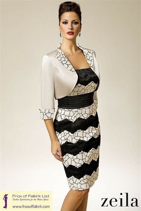 A beautiful cream and black outfit by Zeila, perfect for a