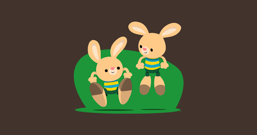 Cute Bouncy Bunnies by Cheerful Madness!! by cheerfulmadness