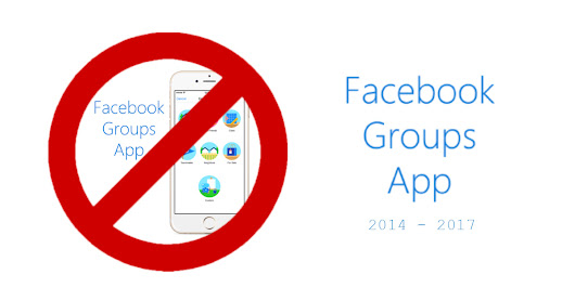Facebook cancella Facebook Groups App