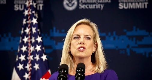 #Department #of #Homeland #Security #Secretary#Kirstjen #Nielsen#DHS #National #Cybersecurity #WitchHunt...