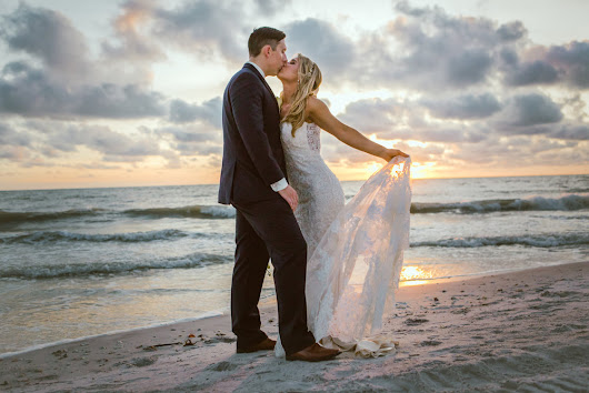 Bobby + Brett // Longboat Key Golden Beach Wedding