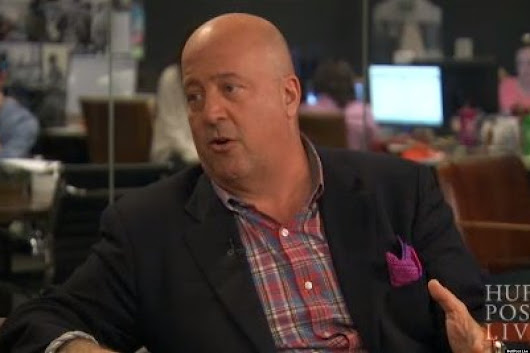 Andrew Zimmern: '99 Percent Of Food Shows Are Crap' (VIDEO)