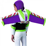 Disguise Toy Story Buzz Lightyear Child Jet Pack, Purple/Green, OS