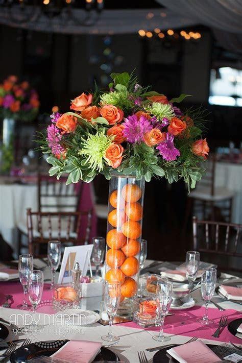 Tropical Wedding Centerpieces #weddingcenterpieces #