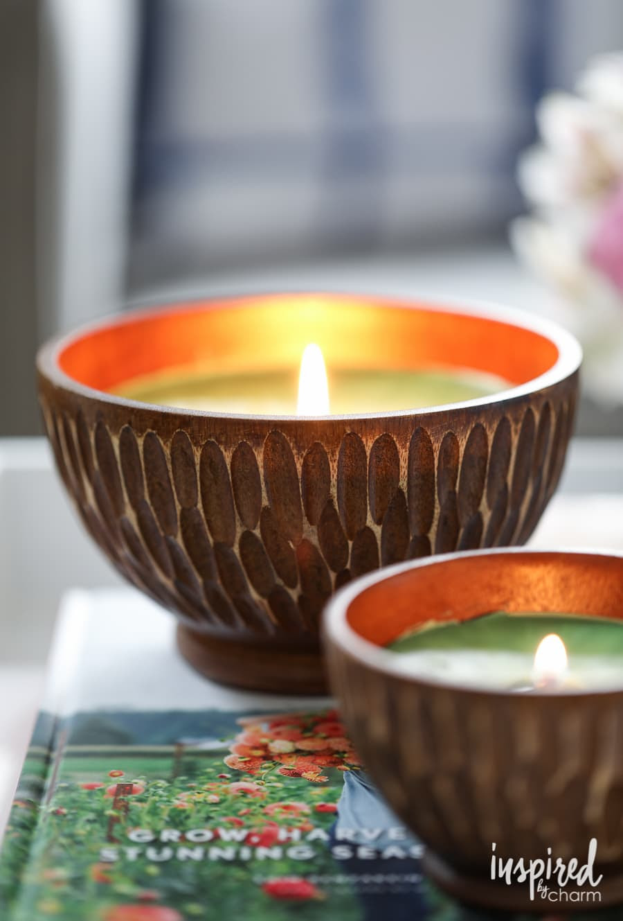 DIY Beeswax Candles - Inspired by Charm - Inspired by Charm