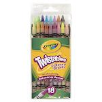Crayola Llc Formerly Binney & Smith Bin687418 Crayola Twistables 18 Colors Colored Pencils