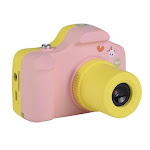 Colorful Cute Kids Children Digital Camera 1.0MP 1.5 inch Shoot LSR Cam For Baby Birthday Christmas Gift Support Micro SD/TF Pink