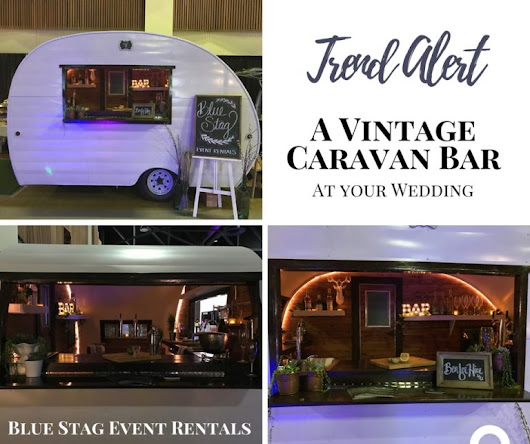 Mix it up with a Vintage Caravan Bar at your Wedding | Trend Alert - Green-Eyed Girl Productions