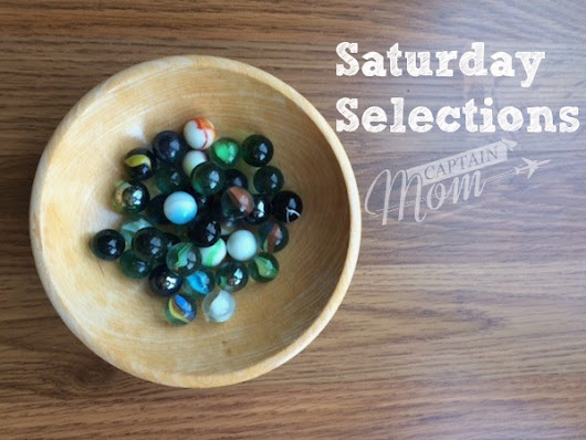 Saturday Selections: Marble Runs, 100 Blocks a Day, and Sugary Cereal - Captain Mom