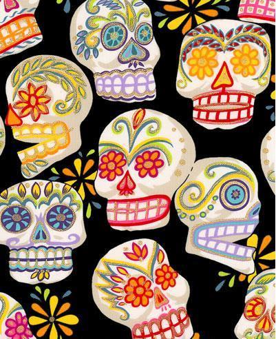 day of the dead skull. paint. day of dead skull.