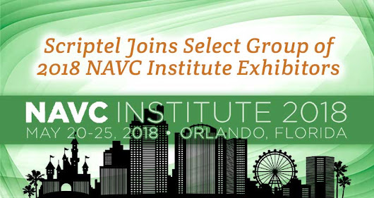 Scriptel Joins Select Group of 2018 NAVC Institute Exhibitors - Scriptel.com