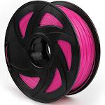 1.75mm MakerBot PETG PLA TPU Filament Printer For RepRap 2.2lb ABS 1kg 3D, Fluo Rose Red / PLA 1kg/330M (1.75mm Filament)