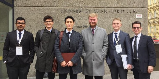 Penn State Law Vis Moot Court Team finds success again in Vienna