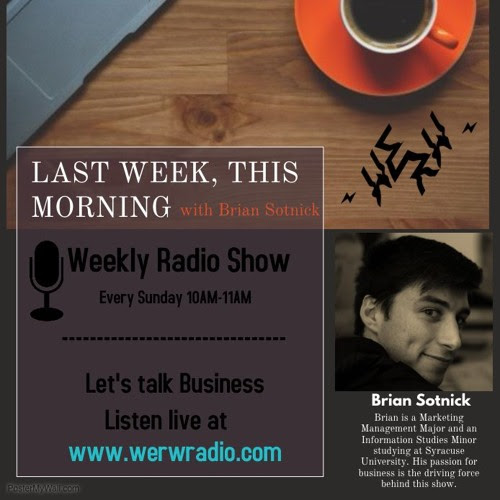 Last Week, This Morning Show #8 Feat. Daniel Fridliand by LastWeekThisMorning
