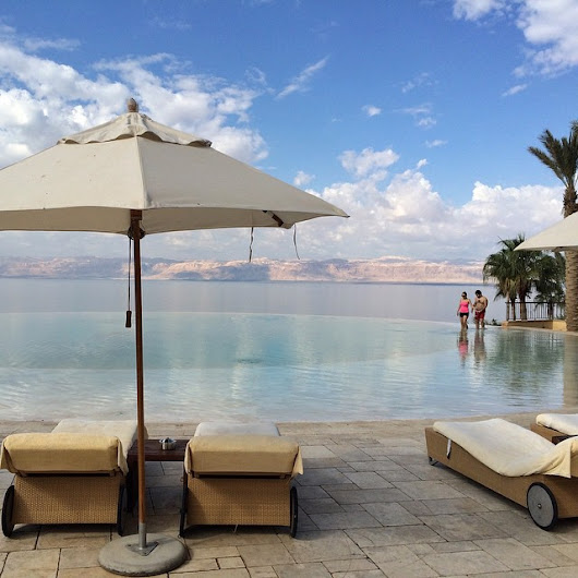 Floating in the Dead Sea & Ma'In Hot Springs in Jordan - Stop Having a Boring Life