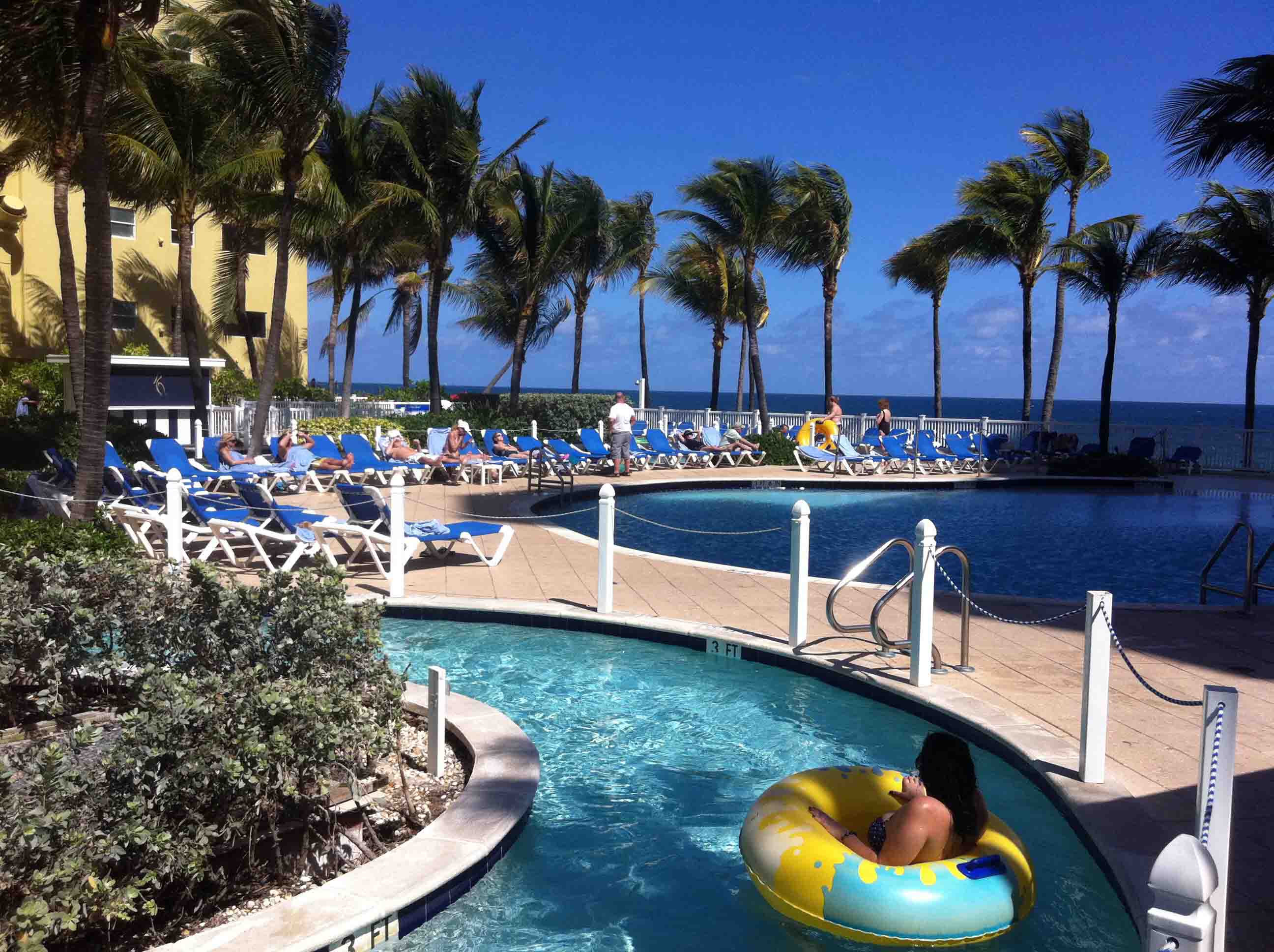 Relaxing Day at The Pelican Grand Beach Resort  Stop